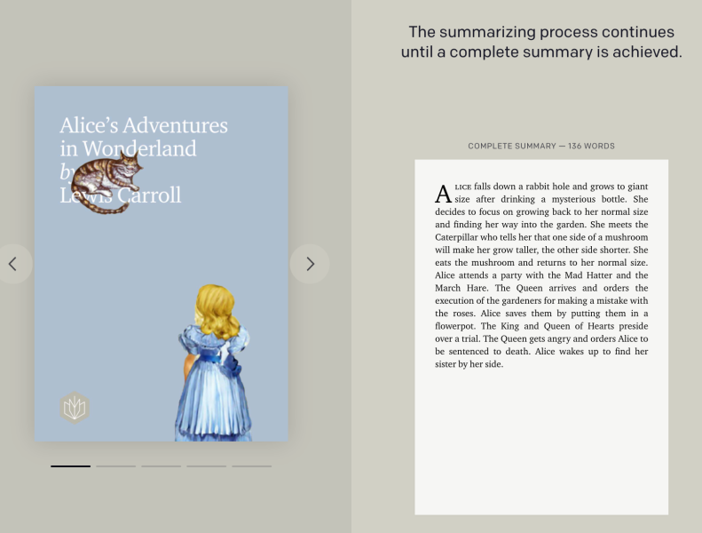 OpenAI book summaries
