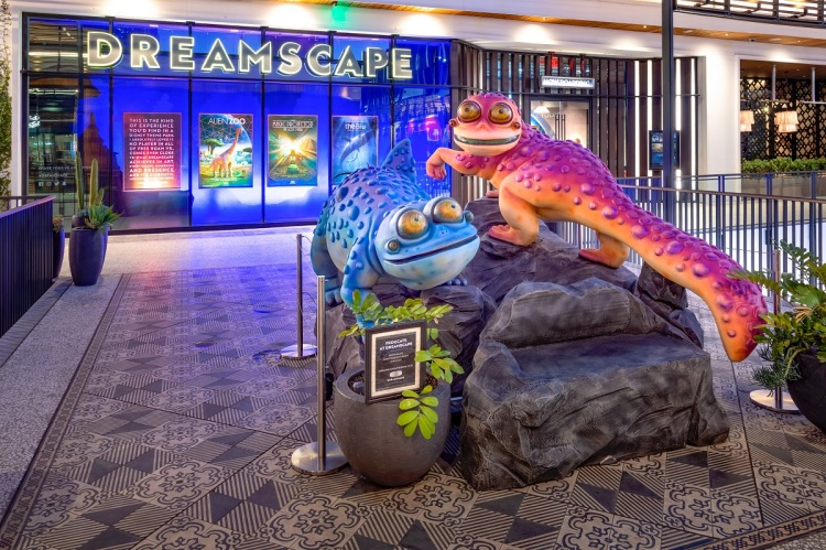 Dreamscape Immersive's location in Century City.