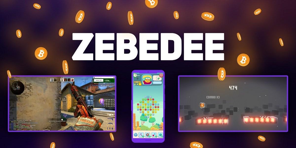 Zebedee powers Bitcoin payments in games.
