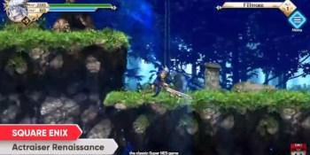 Actraiser Renaissance remakes the SNES classic