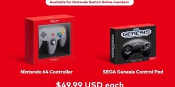 Nintendo launches Nintendo 64 and Sega Genesis controllers for Switch