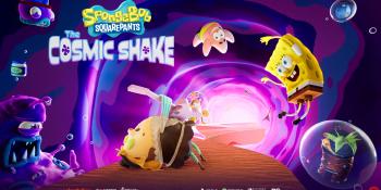 SpongeBob SquarePants: The Cosmic Shake is a new 3D platformer