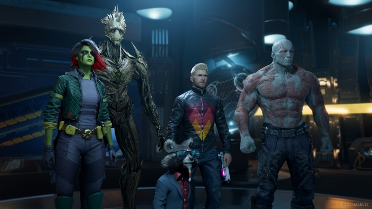 That vaguely looks like the Guardians.