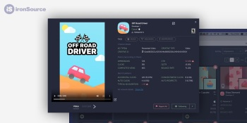 IronSource lets developers examine the quality of ads that run in mobile games