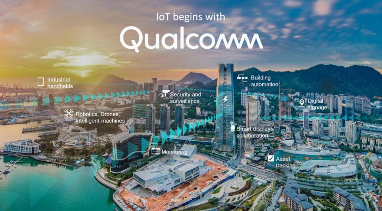 Qualcomm is focused on IoT and smart cities.