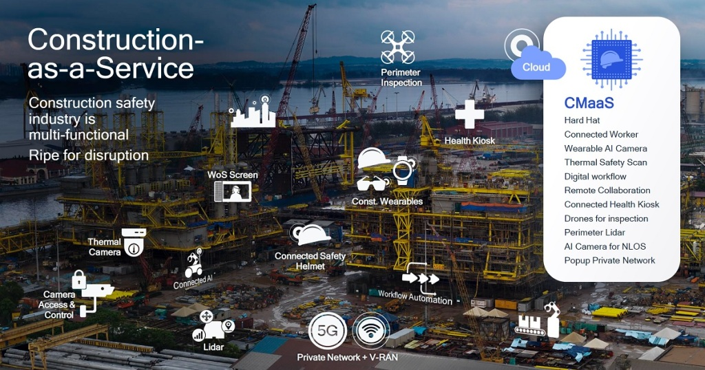 Qualcomm's smart cities approach to construction.
