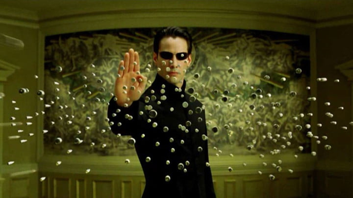 Keanu Reeves in The Matrix was a big inspiration for Riz Virk.