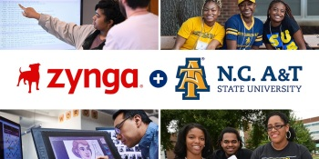 Zynga will provide $1.4M in scholarships for North Carolina A&T State as part of social impact fund