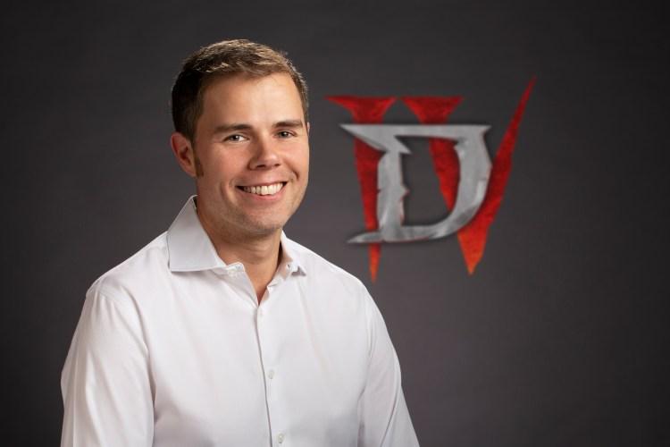 New Diablo IV game director Joe Shely.