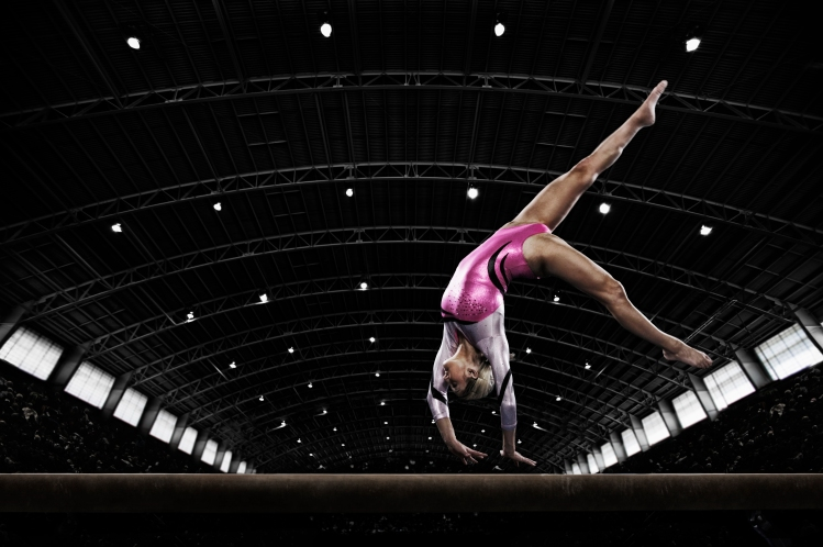 Women gymnast at Tokyo 2020 Olympics