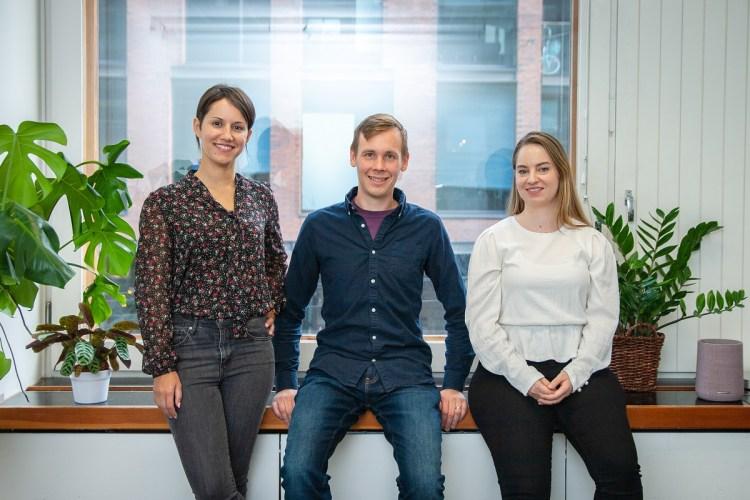 Papukaya founders (left to right): CEO Drussila Hollanda, Johannes Ahvenniemi, and Saara Makinen.