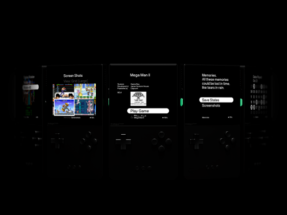 AnalogueOS is powerful interface for the Pocket.