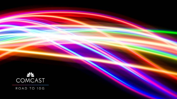 Comcast has successfully tested 10G data transfer on its network.
