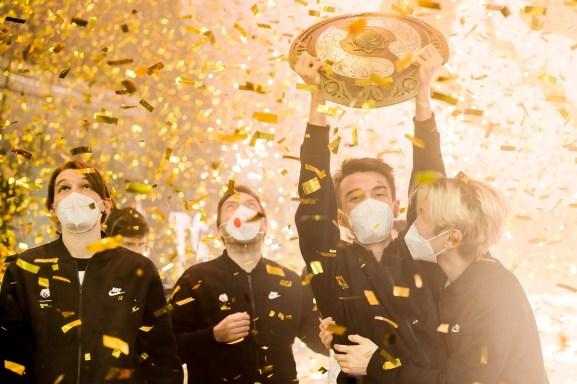 Team Spirit wins The International Dota 2 Championship for 2021.