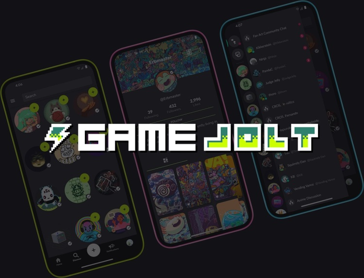 Game Jolt has grown to millions of users.