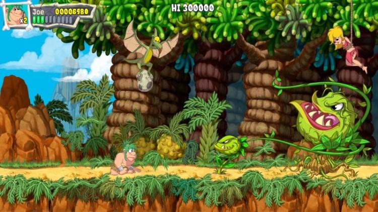 Joe & Mac: Caveman Ninja.