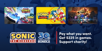 Humble Bundle's Sonic 30th Anniversary Bundle offers $225 worth of Sonic games for cheap