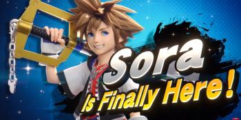 Sora is Super Smash Bros. Ultimate's last DLC fighter