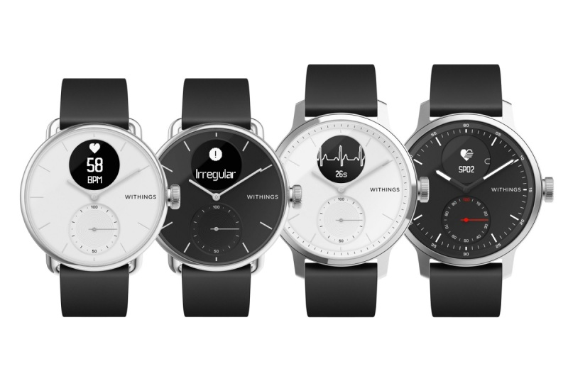 Withings can tell you if there's anything wrong with your heartbeat.