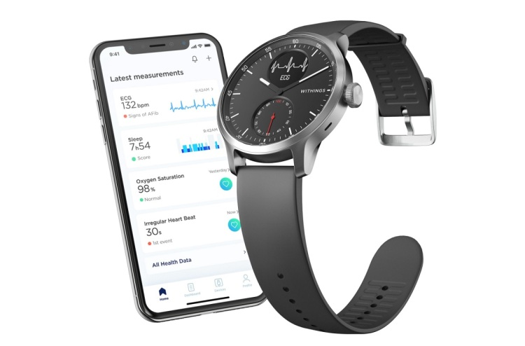 Withings has FDA approval for its medical smartwatch.
